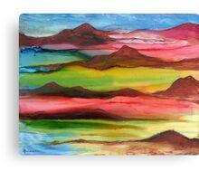 """""""Mountainscape"""" - Original, Unique Artist's Design! Canvas Print"""