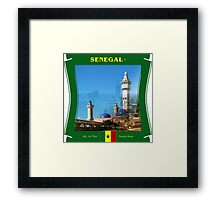 Senegal - All In The Same Boat Framed Print