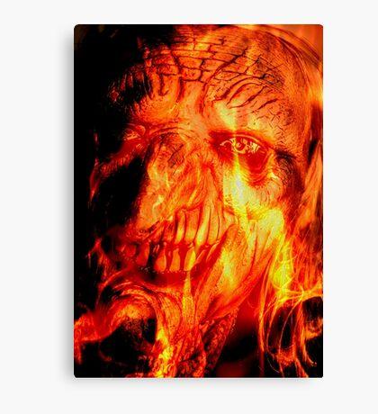 Retrato del Diablo Canvas Print