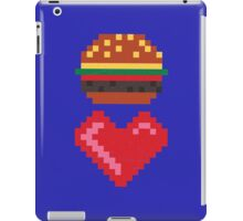 8-BIT BURGER LOVE iPad Case/Skin