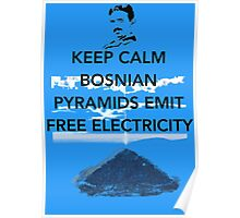 Keep Calm Free Pyramid Energy Poster