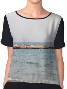Breakwater Chiffon Top