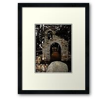 Chapel of the Woods, Hebron, NH Framed Print