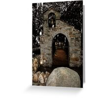 Chapel of the Woods, Hebron, NH Greeting Card