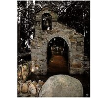 Chapel of the Woods, Hebron, NH Photographic Print
