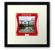 Singapore - Lion City Framed Print