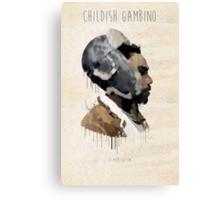 Childish Gambino Droplet Canvas Print