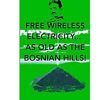 Free Energy Bosnian Pyramids Photographic Print