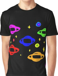 The Colorful Galaxy Graphic T-Shirt