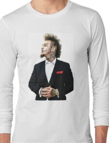 Stitches Rapper Long Sleeve T-Shirt