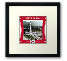 South Korea - Supreme Ultimate Framed Print