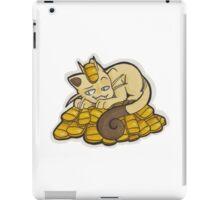Money Meowth iPad Case/Skin