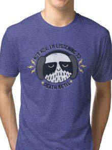 I'M HAVING A LITTLE ME TIME Tri-blend T-Shirt
