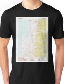 USGS TOPO Map California CA Willow Ranch 295809 1990 24000 geo Unisex T-Shirt