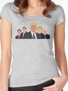 US Election 2016 Women's Fitted Scoop T-Shirt