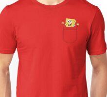 Pocket Spongebob Unisex T-Shirt