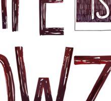 Wowzer Sticker