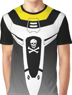 Macross Skull Squadron Custom Graphic T-Shirt