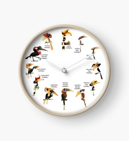 The Hornbill Wall Clock Clock