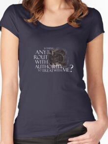 Mouth of Sauron Women's Fitted Scoop T-Shirt