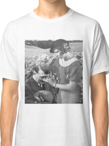 motherly love, retro collage Classic T-Shirt