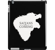 Saiyans Are Coming iPad Case/Skin
