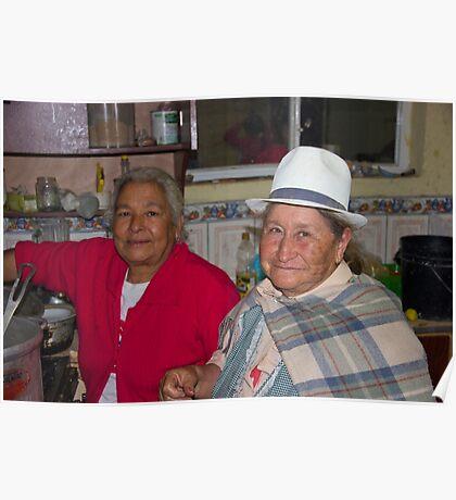 Grandmas At Carnaval Poster
