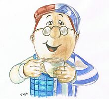 Mr  Tetley by Teresa White