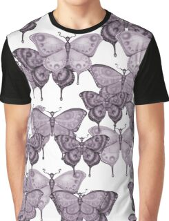 The Butterfly Project - magenta, dark Graphic T-Shirt