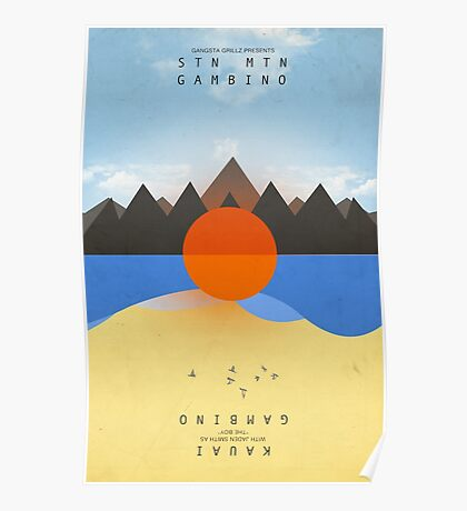 STN MTN Chained Poster