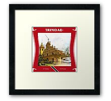 Trinidad - Land Of The Hummingbird Framed Print