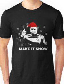 Make It Snow Star Trek Christmas Shirt Unisex T-Shirt