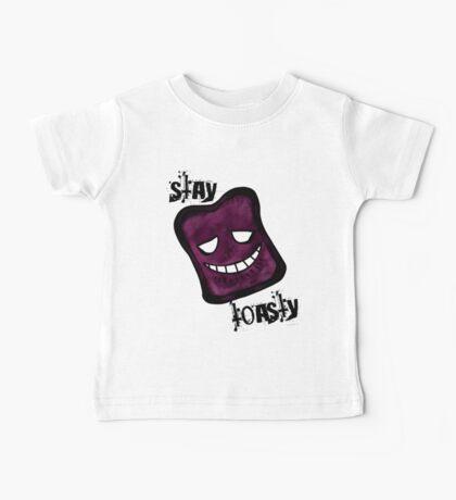 Stay Toasty - Purple Baby Tee