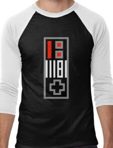 NES Controller Men's Baseball ¾ T-Shirt