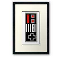 NES Controller Framed Print