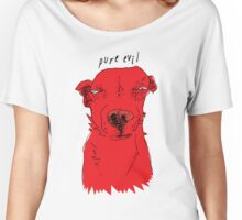 pure evil Women's Relaxed Fit T-Shirt