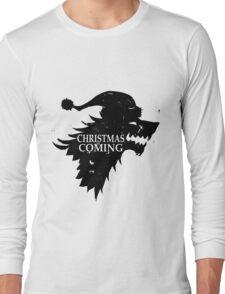 Funny Christmas Is Coming Holiday Birthday Gift Shirt Long Sleeve T-Shirt