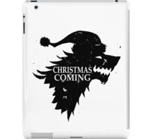 Funny Christmas Is Coming Holiday Birthday Gift Shirt iPad Case/Skin