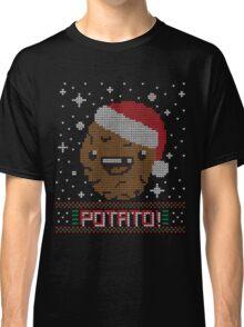 UGLY POTATO CHRISTMAS SWEATER ERMAHGERD!! Classic T-Shirt