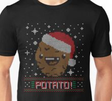 UGLY POTATO CHRISTMAS SWEATER ERMAHGERD!! Unisex T-Shirt