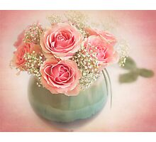 Beautiful bouquet of roses Photographic Print