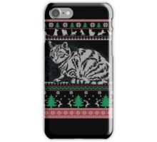 Ugly Cats Christmas Kittens Holiday Gift Shirt iPhone Case/Skin