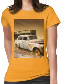 Vintage Classic Car Pop Out Art Womens Fitted T-Shirt