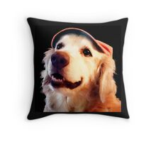 Jackson Browne With Hat Throw Pillow