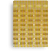 WAFFLE BUILDING (X-Scapes) Canvas Print
