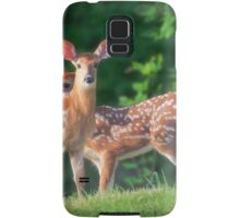 Spring Twins (White Tailed Deers) Samsung Galaxy Case/Skin