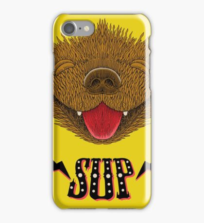 Sup Pup Happy Dog iPhone Case/Skin
