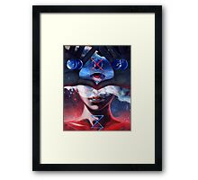 Create and Destroy Framed Print