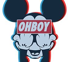 Stereoscopic ohboy by BluePixel