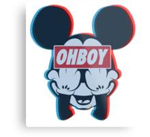 Stereoscopic ohboy Metal Print
